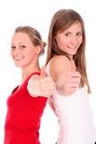 gesture giving ok women Стоковая Фотография RF