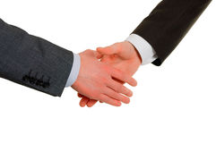 Gesture of hand shake royalty free stock photography