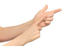 Gesture Royalty Free Stock Photos