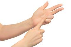 Gesture Royalty Free Stock Image