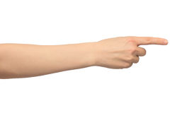 Gesture Stock Image
