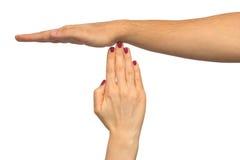 Gesture Stock Photo