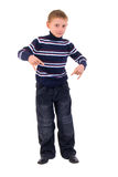 Gesture Little Boy. Stock Photos