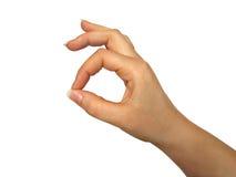 gesture okay Стоковое Изображение RF