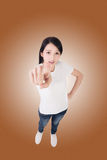 Gesture of point Stock Photography