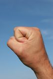 Gesture of Power Royalty Free Stock Photos