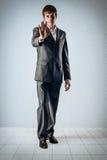 Gesture stop stock photo