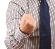 Gesture Victory Stock Photography