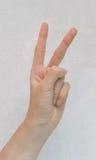 Gesture of winner Stock Photos