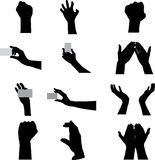 Gestures of hands Royalty Free Stock Image