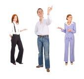 gestures office people Стоковое Изображение