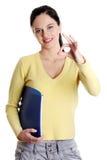 gesturing τέλειος έφηβος κοριτ&sigm Στοκ εικόνα με δικαίωμα ελεύθερης χρήσης
