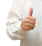 Gesturing hand Royalty Free Stock Images