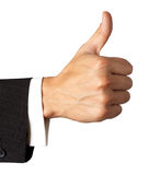 Gesturing hand OK Stock Photography