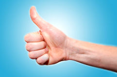 Gesturing hands Royalty Free Stock Photos