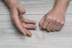 Gesty z rękami obraz stock