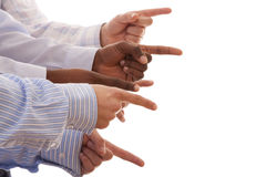 gestykulujący rękę gestykulującą zdjęcie royalty free