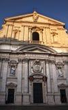 gesu Ιταλία jesuit Ρώμη προσόψεων ε&kappa Στοκ Εικόνες