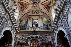 Gesu Church in Palermo Sicily Italy Royalty Free Stock Photography