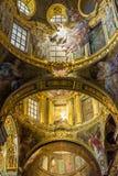 Gesu e dei Santi Ambrogio e Andrea church of Genova, Italy. Stock Image