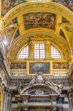 Gesu e dei Santi Ambrogio e Andrea church of Genova, Italy. Royalty Free Stock Photo