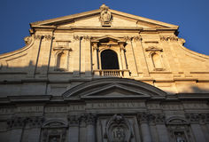Gesu Jesuit Church Rome Italy Stock Photography