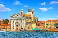 Gesuati kyrka på den Guidecca ön i Venedig, Italien royaltyfria bilder