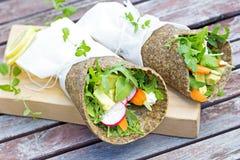 Gesund, geben Korn, Gemüseverpackungen frei Lizenzfreie Stockfotos