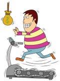 Gesund mit Geld Stockfoto