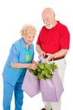 Gesunde Ältere bereiten auf Lizenzfreie Stockfotografie