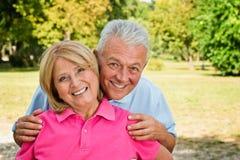 Gesunde ältere Paare Stockbilder