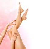 Gesunde Beine. Badekurort Lizenzfreies Stockbild