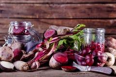 Gesunde Bestandteile für Abendessen Stockbilder