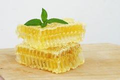 Gesunde Bienenwaben Stockbild