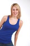 Gesunde Blondine Lizenzfreie Stockfotos