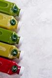 Gesunde Ernährung, Getränke, Diät und Detoxkonzept Lizenzfreies Stockbild