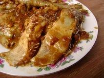 Gesunde Fische pangasius Mahlzeit lizenzfreie stockfotografie