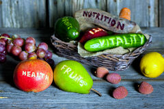 Gesunde Früchte Lizenzfreie Stockfotos