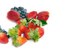 Gesunde Fruchtantioxydantien Stockfotos