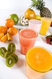 Gesunde Getränke Stockbild