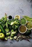Gesunde grünes Lebensmittel Proteinquelle für Vegetarier Lizenzfreie Stockfotografie
