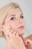 Gesunde Haut Stockfoto