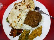 Gesunde indische Küche lizenzfreie stockfotos