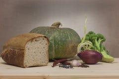 Gesunde kochende Bestandteile lizenzfreie stockfotografie