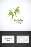Gesunde lebende Ikone Stockbilder