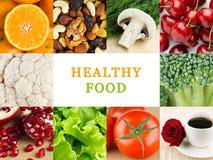 Gesunde Lebensmittelhintergründe lizenzfreie stockfotografie