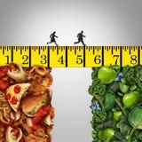 Gesunde Lebensstil-Änderung stock abbildung