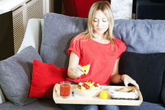 Gesunde Mahlzeit Lizenzfreies Stockbild