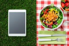 Gesunde Mahlzeit lizenzfreie stockfotos