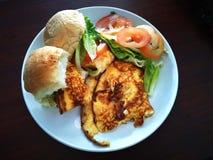 Gesunde Mahlzeiten wird gedient lizenzfreies stockbild